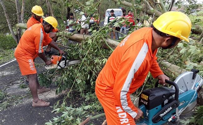 पश्चिम बंगाल में 'बुलबुल'का कहर, सात लोगों की मौत; तेज हवा ने उखाड़ दिए पेड़