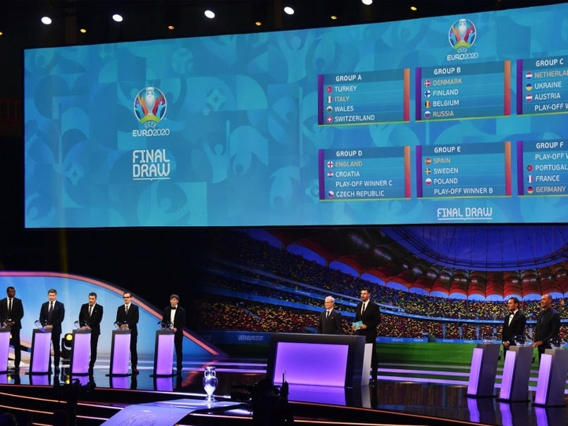 Euro 2020: Portugal, France, Germany Drawn Together, England Get Croatia