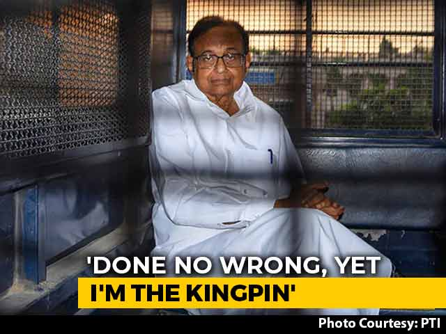 "Video : ""As If I Am Some Ranga Billa"": P Chidambaram Questions Denial Of Bail"