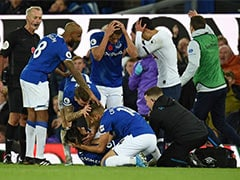 Watch: Andre Gomes Suffers Horror Injury As Everton Deny Tottenham