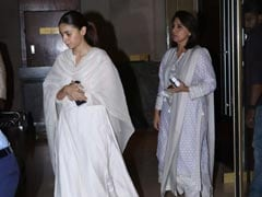 Neetu Kapoor, Alia Bhatt, Anil Kapoor, Raveena Tandon And Others Attend Suraj Prakash Malhotra's Prayer Meet