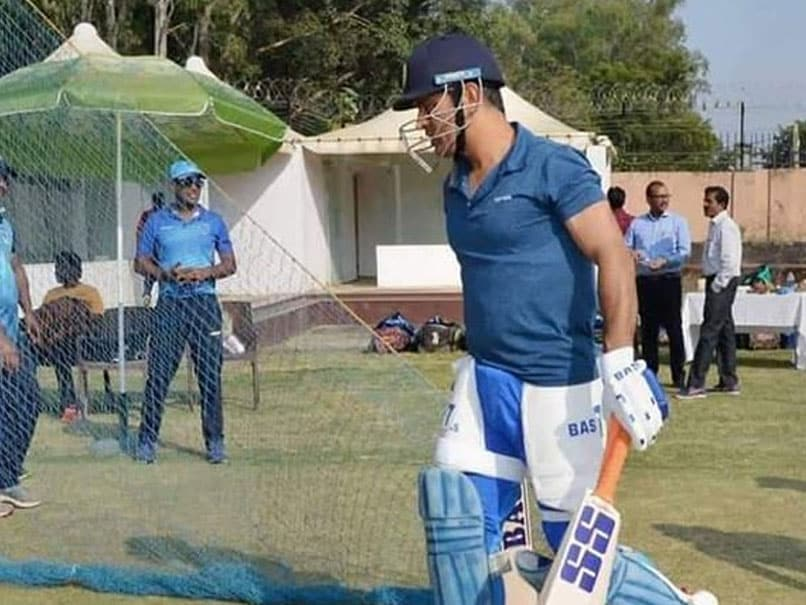 MS Dhoni makes comeback in net, seen doing practice in JSCA stadium