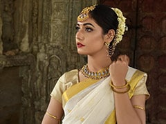Glam Up In A Kerala <i>Saree</i> For Your Best Friend's Wedding. 7 Chic Options
