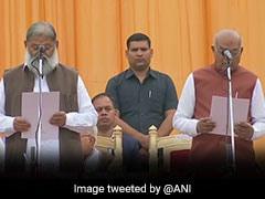 हरियाणा: CM मनोहर लाल खट्टर ने मंत्रीपरिषद का किया विस्तार, 10 विधायकों ने ली शपथ