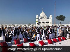 "UN Chief Says Kartarpur Corridor Paves Way For ""Interfaith Harmony"""