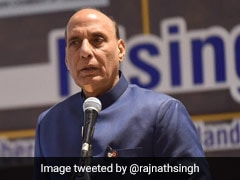 """$5 Billion Target"": Rajnath Singh Asks Defence Firms To Invest In India"