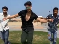 Tiger Shroff Recreates <i>War</i> Song <I>Ghungroo</I>. Dedicates It To Hrithik Roshan And Vaani Kapoor