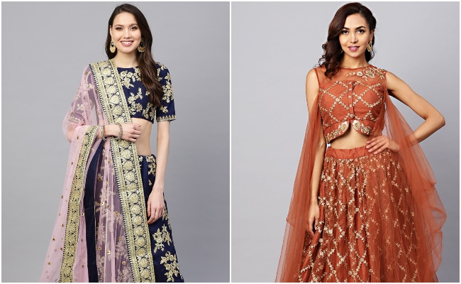 Glam Up In Gorgeous <i>Lehengas</i> This Wedding Season: 9 Top Picks From Myntra