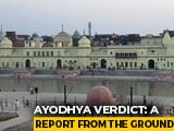 Video : Ground Report: In Ayodhya, A Calm, Muted Response To Supreme Court Verdict