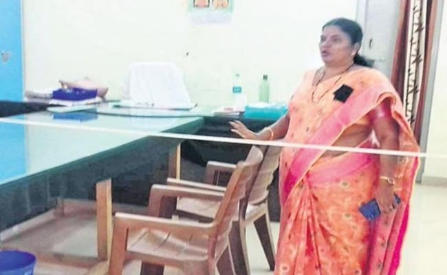Andhra Officer 'Panicked', Tied Rope As Barricade In Her Office