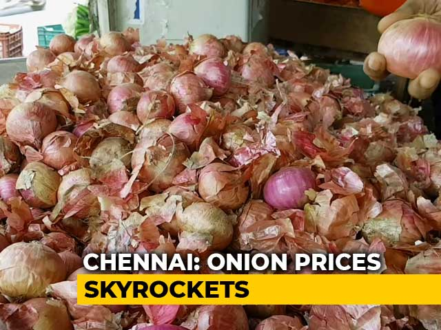 Video : As Supply Dwindles, Onion Prices In Chennai Double In Just A Week