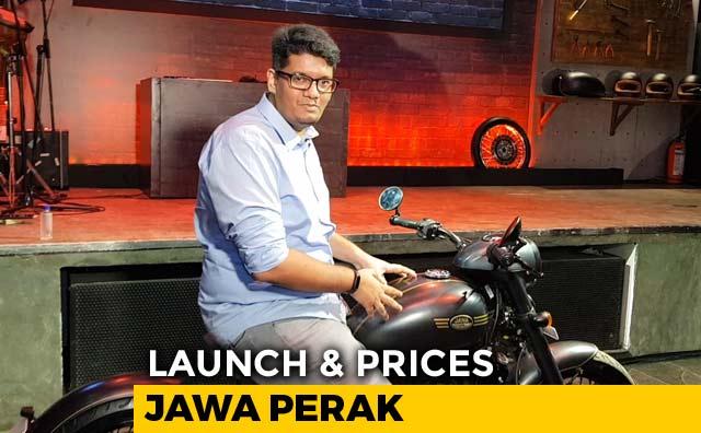 Video : Jawa Perak Launch & Prices