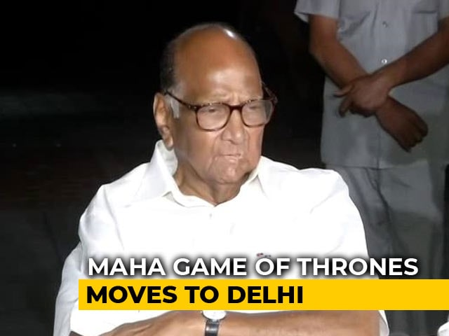 Video : Sharad Pawar Prime Mover As Sena Amps Up Row With BJP In Maharashtra