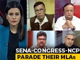Video : The Maharashtra MLAs Parade: Alliance's Show Of Strength