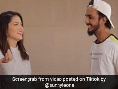 Sunny Leone को अनोखे अंदाज में लड़का ले गया Date पर, देखें TikTok Viral Video