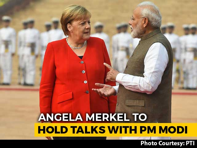 "Video : ""Great Respect For This Country, Its Diversity,"": Angela Merkel During India Visit"