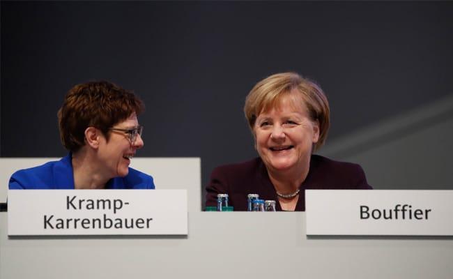 Angela Merkel Successor Annegret Kramp-Karrenbauer Was Ready To Step Aside, Then A Standing Ovation