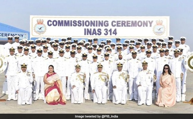 Indian Navy Commissions Sixth Dornier Aircraft Squadron In Gujarat