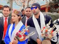 When In Manali: Alia Bhatt And Ranbir Kapoor Shoot For <i>Brahmastra</i> In The City. See Viral Pic