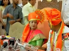 Sena's Kishori Pednekar Elected Unopposed As Mayor Of Mumbai Civic Body