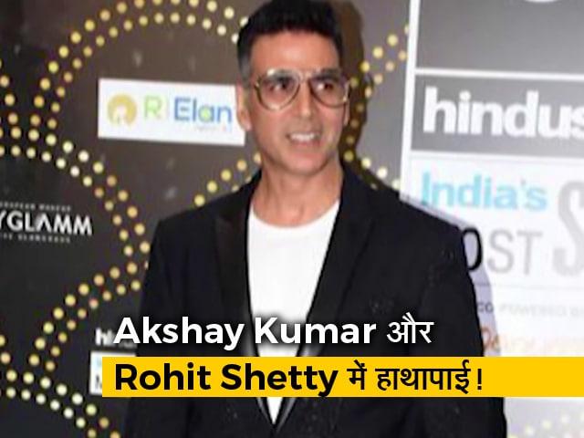 Videos : Akshay Kumar और Rohit Shetty में हाथापाई, तो क्यों हो रहा है Munna Badnaam