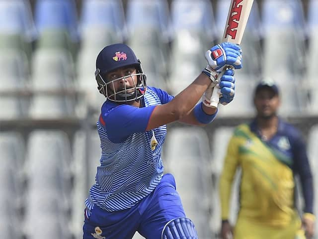 Syed Mushtaq Ali Trophy: Muambi & Delhi gets fantastic win in own respective matches