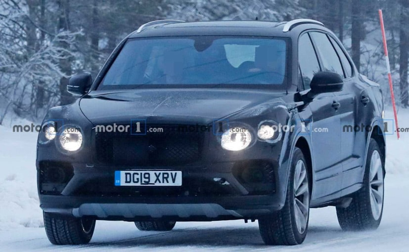 The new Bentley Bentayga will get a revised front.