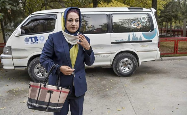 'Pink Shuttle' Helps Afghanistan Women Navigate Conservative Society