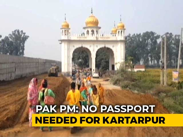 Video : Imran Khan Says No Fee For Indian Sikhs On Kartarpur Corridor Opening Day