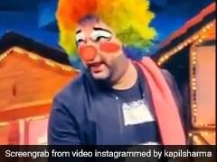 कपिल शर्मा ने जोकर बनकर यूं बेची सब्जी, पहचानना हुआ मुश्किल- देखें Video