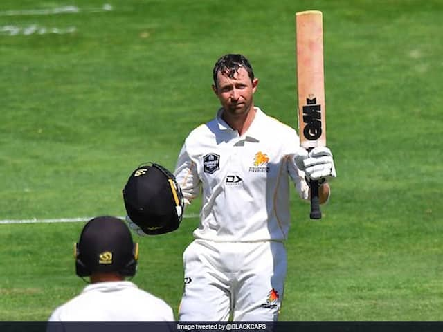 Devon Conway joins elite group with triple century for Wellington