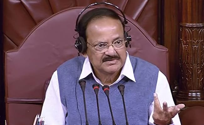 Notices To Lapse If House Proceedings Adjourned Due To Disruptions: Venkaiah Naidu