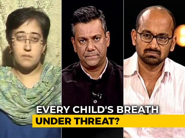 Video : On Children's Day, Delhi Most Polluted City In The World