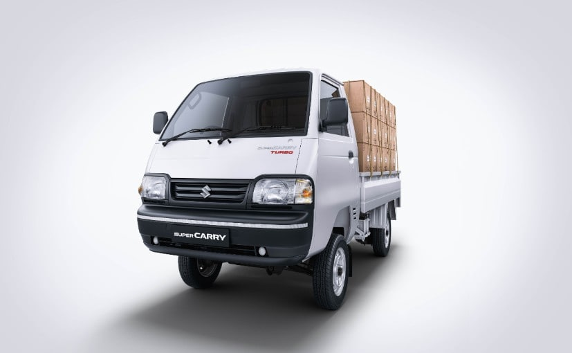The Super Carry deckless variant will be available only with a petrol engine.