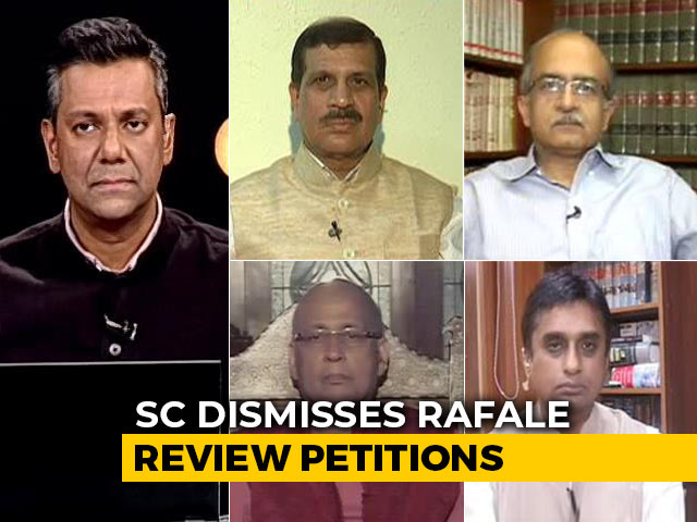 Video : Rafale Petitions Dismissed, Scrutiny Of Defence Deals Now Limited?
