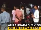 Video : 2 Children Killed In Stampede During Chhath Puja In Bihar's Aurangabad