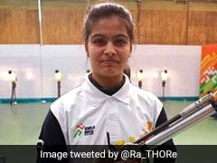 Manu Bhaker Wins Gold In Shooting World Cup