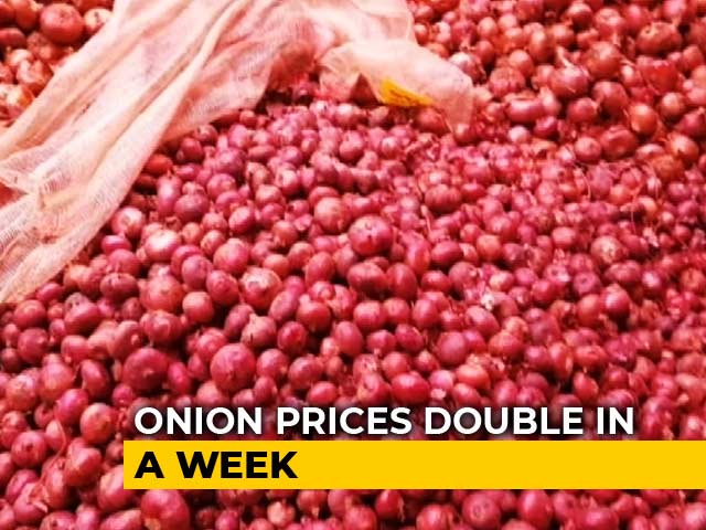 Video : Onion Price Up To Rs. 80 A Kg In Tamil Nadu, Centre To Import Vegetable