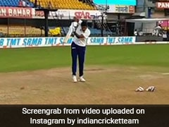 """Better Than Rishabh Pant"": Ravichandran Ashwin Wows Fans By Batting Left-Handed. Watch"