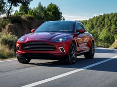 2019 LA Auto Show: Aston Martin DBX SUV Makes Global Debut