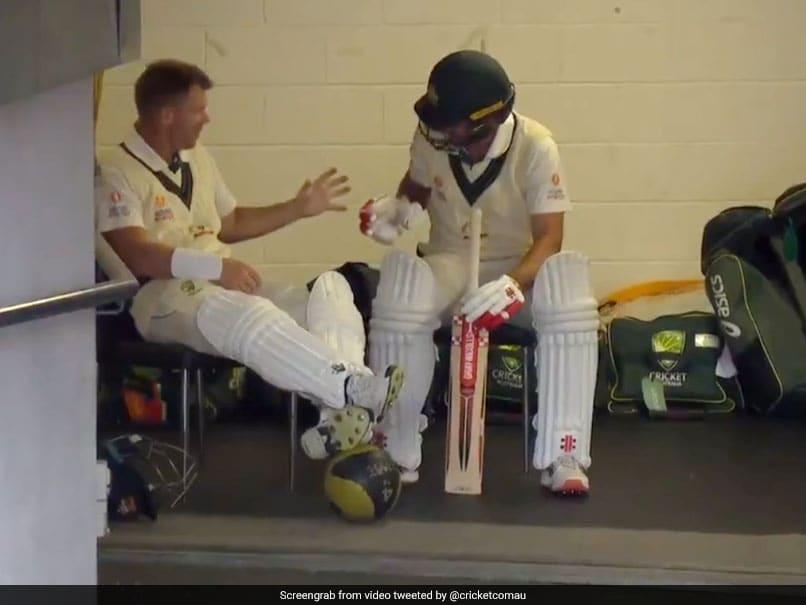 David Warner, Joe Burns Engage In Rock Paper Scissors Before Batting In 2nd Test Against Pakistan. Watch