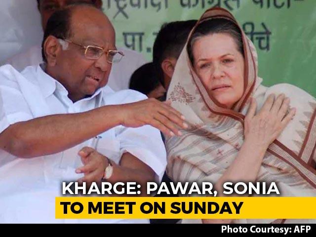 Video : Sharad Pawar, Sonia Gandhi To Meet, Discuss Maharashtra On Sunday