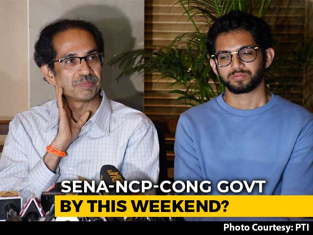 Video : Maharashtra Government On Weekend? Sena, NCP, Congress Hint