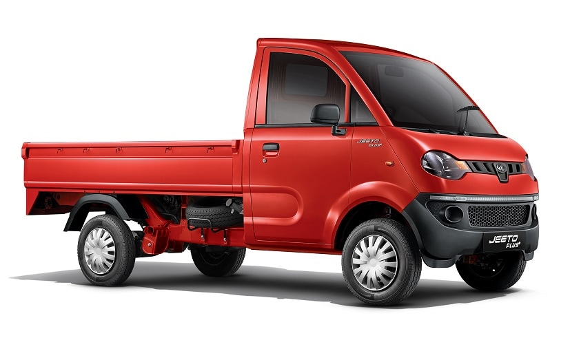 The Mahindra Jeeto Plus is a is a sub-1 tonne light commercial vehicle is priced at Rs. 3.47 lakh