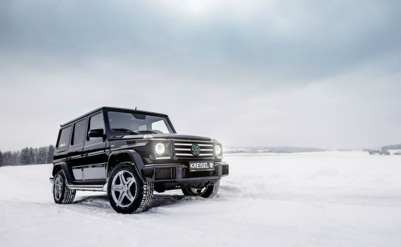 The custom Mercedes-Benz G-Class Electric built by Kreisel used for reference