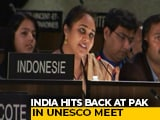 "Video : Pakistan Has ""DNA Of Terrorism"": India's Reply On Kashmir At UNESCO"