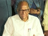 Video : Sharad Pawar On Maharashtra Government Formation And Other Top Stories