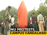 Video : JNU Protests: Campus Vandalised