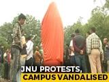 Video : JNU Protests: Campus Vandalised