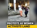 Video : On Camera, Woman Activist On Way To Sabarimala Attacked With Pepper Spray
